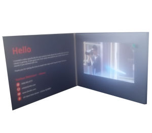 Chinese Factory Supply 7inch LCD Video Brochure pictures & photos