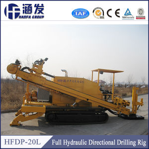 China Manufacturer Cheap Price Trenchless Underground Pipe Laying Machine, 20t HDD Horizontal Directional Drilling Rig pictures & photos
