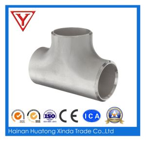 ANSI B16.9 304 316 4in Stainless Steel Reducing Tee pictures & photos