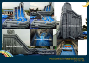 Best Selling Inflatable Water Slide with Pool, Giant Inflatable Water Slide pictures & photos