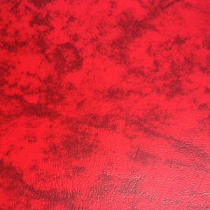 Two Tone Red PVC Synthetic Leather for Sofa Furniture Upholster pictures & photos