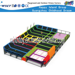 Large Amusement Equipment Indoor Trampoline Park (HF-19703) pictures & photos