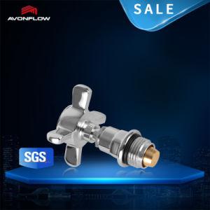Avonflow 15*1/2 Chrome Brass Radiator Valve for Water Radiator (C00001) pictures & photos