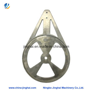 Non-Standard Aluminum/Metal CNC Machining Parts Round Plate for Motorcycle pictures & photos