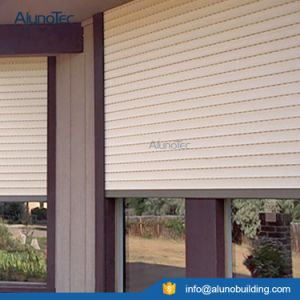 Aluminium Rolling Shutters/Roll up Window with Auto pictures & photos