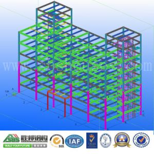 Prefabricated Steel Structure Office and Apartment Building in Thailand pictures & photos