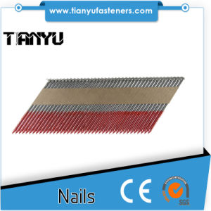 Paper Collated Strip Nails 34 Degree D Head and Offset Round Head pictures & photos