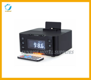 Hotel Digital Alarm Clock Docking Station pictures & photos