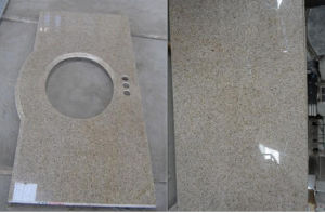 Polished Rusty Granite (G682) Slab/Tile/Stair, Yellow Granite pictures & photos