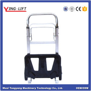 Aluminum Folding Hand Truck with 80kg Capacity pictures & photos