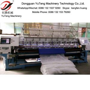 3 Meters Computerized Multi-Needle Quilting Machine Ygb128-2-3 pictures & photos