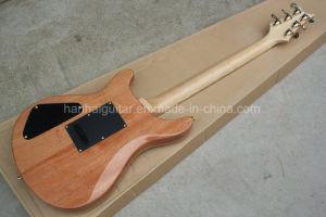 Hanhai Music/Original Wood Color Prs Style Electric Guitar pictures & photos