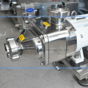 Sanitary Stainless Steel Twin Screw Pump with Motor pictures & photos