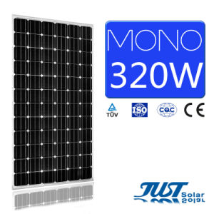High Quality 320W Mono Solar Panel with Certificate of Ce, TUV and CQC