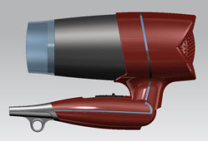 Hot Foldable Hair Dryer with Three Heat Settings pictures & photos
