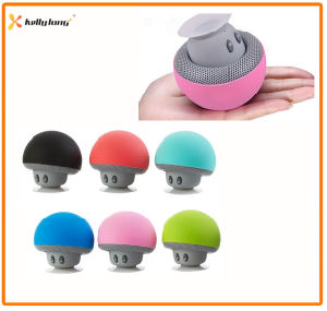 Suction Cup Wireless Mini Mushroom Stereo Bluetooth Speaker pictures & photos