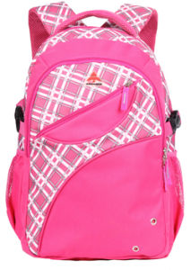 Fashion Leisure School Student Travel Backpack in Pattern Fabric pictures & photos
