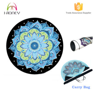 Luxe Eco Round Yoga Mat with Free Yoga Bag pictures & photos