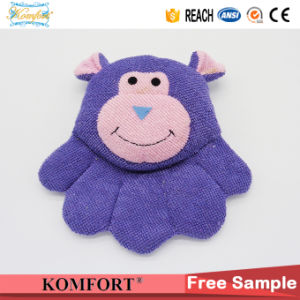 Pig Bath Scrubber Baby Bath Glove Animal Finger Plush Hand Puppet pictures & photos