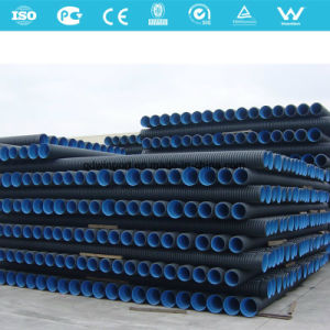 Double Wall Corrugated PE Drainage Pipe pictures & photos