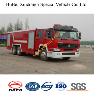 16ton HOWO Water Fire Truck Euro3 pictures & photos