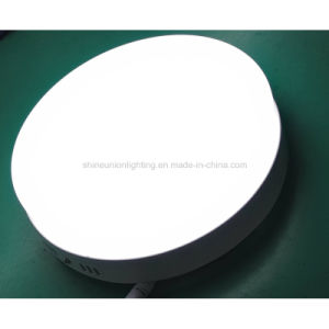 Round 24W Backlit LED Panel Light for Surface pictures & photos