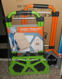 Foldable Steel Hand Trolley (HT022FS) pictures & photos