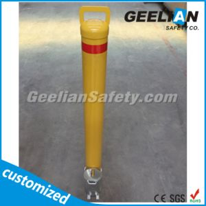 Round Metal Removable Bollard Traffic Warning Post for Sale pictures & photos