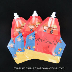 Reusable Baby Food Spout Pouch with Zipper for Refilling pictures & photos