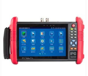 7 Inch HD IP CCTV Camera Tester Monitor Ahd Cvi Sdi Tvi3.0 Tester Onvif PTZ WiFi Poe 12V Output