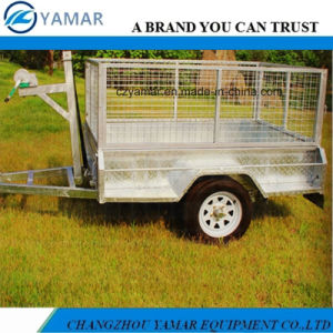 Tipping Trailer with Winch pictures & photos