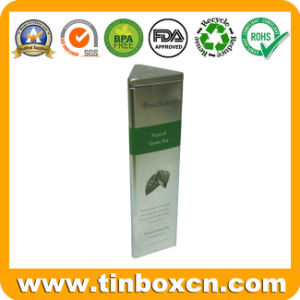 Triangular Tea Tin for Tea Tin Box Packaging, Tea Caddy pictures & photos
