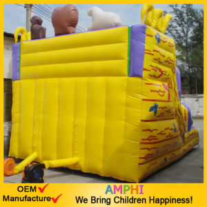 Giant Circus Clown Inflatable Slide for Commercial Rental Use pictures & photos