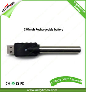 Chinese Supplier E Slim Battery 510 Thread 290mAh S4 Battery pictures & photos