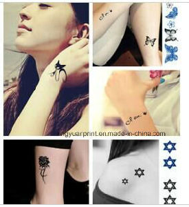 Fashion Temporary Customized Tattoo