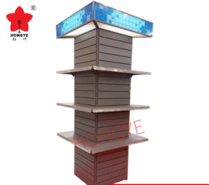 Four Sides Multifuction Supermarket Shelf (HY-15) pictures & photos
