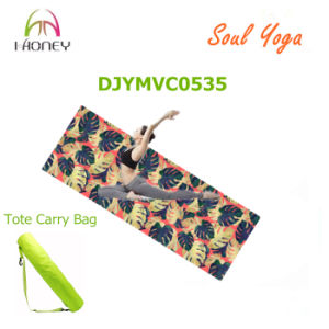 68inch Microfiber Yoga Mat 3.5mm Professional Yoga Mat for Yoga Studio pictures & photos