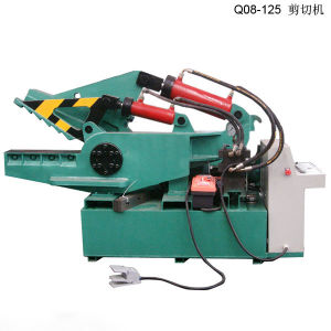 Shear Hydraulic Shear Hydraulic Cutting Machine Metal Shear Cutting Metal Machine (Q08-125) pictures & photos