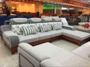 Hotel Sofa Fabric Sofa (FEC1407) pictures & photos