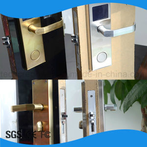 Smart Card RFID Hotel Lock with Software pictures & photos