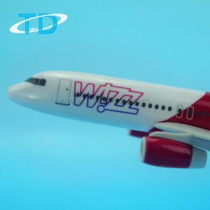 A320neo Wizz 18.8cm Promotional Plastic Material Plane Model pictures & photos