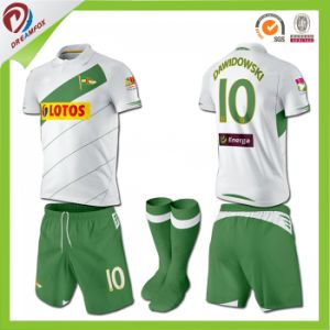 Latest Sublimation Sportswear Customized Uniform Football Jersey pictures & photos