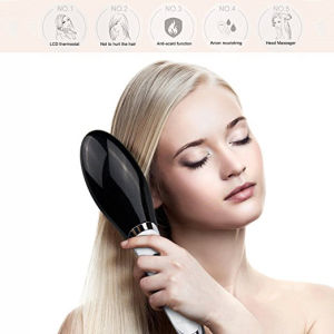 New Travel Size Ceramic Electric Hair Straightener Comb pictures & photos
