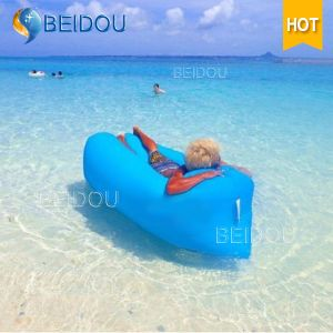 China Waterproof Camping Sleeping Bag Inflatable Bean Air Beach ...