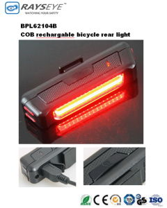 COB Rechargeable Bicycle Rear Light pictures & photos