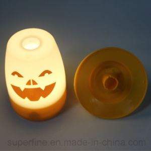 Portable Nice Printing Halloween Hanging LED Lantern for Garden or Public Decor pictures & photos