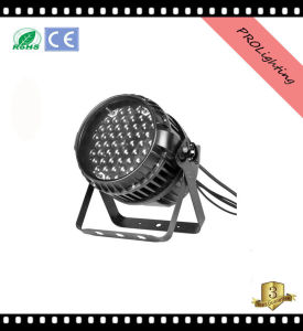 IP65 Waterproof LED PAR Can Lights 54PCS X 3W Rgbwy+UV 6-in-1 with Zoom pictures & photos