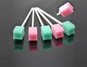 Hot Selling Medical Disposable Oral Foam Swab , Sponge Brush, Sponge Stick pictures & photos