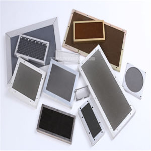 Steel Honeycomb EMI Shielding Vent Yellow Chromated (HR344) pictures & photos