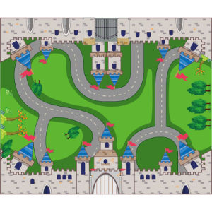 Castle Style Children Game and Educational Mat pictures & photos